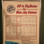 Sky Dome Blue Jay Games Sign