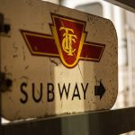 TTC Subway Sign
