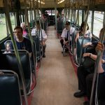 Visitors riding TTC 4000