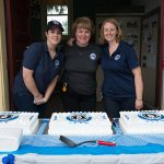 Volunteers at the 60th