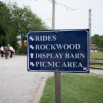 HCRR directional sign