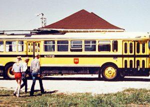 Electric bus 732