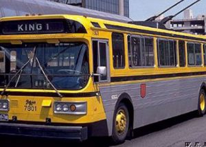 Electric bus 7801