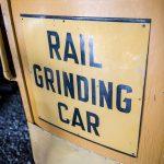 Rail Grinding Car Lettering