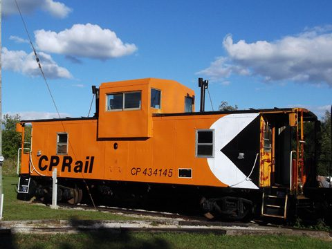 Canadian Pacific Railway Caboose