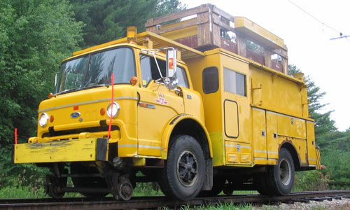 Work rail truck 141